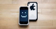 8-bit iPhone skin