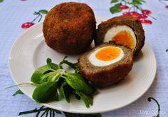 Ouă scoțiene vegetariene