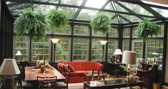 Zimní zahrady pro milovníky květin | Elegantní bydlení