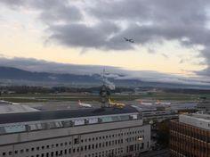 Photo taken by me of Geneva Airport