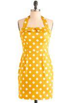 Pin-Up Clothing - Solar Fair Dress