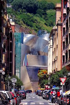 Bilbao Spain / Architecture -  Countdown to @Sheila Richardson of Spain trip to Madrid and Valencia - Feb 2014. http://stagetecture.com/?p=61494