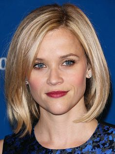 Reese Witherspoon----If you're hesitant about trying a shorter style, Reese Witherspoon's long bob is the perfect way to test the waters. Plus, chopping off a few inches drastically shortens styling time in the morning!