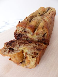 Réalisé le : Banana Bread aux flocons d'avoine – son d avoine… Directed on Banana Bread with oat flakes – oat bran, oat flakes, whole flour and almond and added a vanilla sugar packet – Banan Bread, Oatmeal Banana Bread, Banana Bread French Toast, Healthy Banana Bread, Banana Bread Recipes, Cake Recipes, Dessert Recipes, Dessert Healthy, Eating Bananas