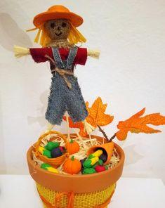 Posklizňové tvoření | Rodina21#autumn #diy Horn, Autumn, Christmas Ornaments, Holiday Decor, Diy, Home Decor, Jute, Horns, Decoration Home