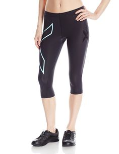 2XU Women's 3/4 Compression Tights ** To view further for this item, visit the image link.