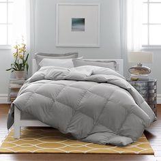 Alberta™ Oversized Baffled European Down Comforter   The Company Store