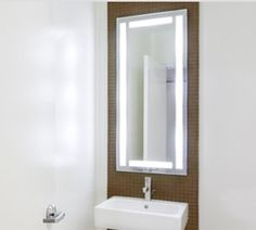 electric mirror efinity lighted mirror avail in a variety of sizes