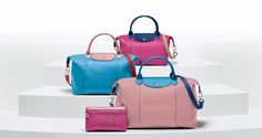 Design your very own! Put a personal touch on your favorite Le Pliage Cuir.