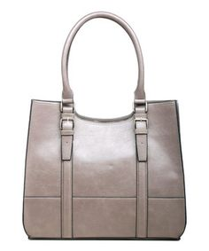 449c1746792 Loving this emilie m. Mink Jane Tote on  zulily!  zulilyfinds Beautiful Bags