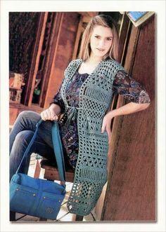 Lifestyle & Creations: Vest haken met patroon