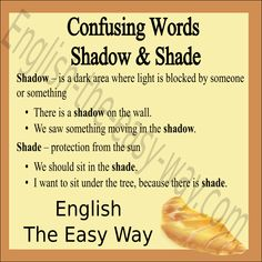 I want to ______ in the shade. 1. eat  2. sit 3. both http://english-the-easy-way.com/Confusing_English/Confusing_Words_S.html?utm_content=buffer13166&utm_medium=social&utm_source=pinterest.com&utm_campaign=buffer #ConfusingWords