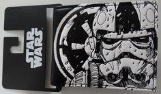 Star Wars Stormtrooper Tie Fighter Galactic Empire Bifold Wallet Nwt #StormtrooperStarWars #Bifold