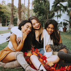 Eva, Meredith and Teala