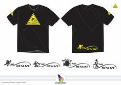 Projeto Logo Banda No Deslize + Aplique Camisa