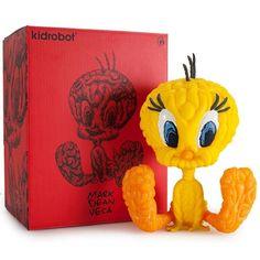 Looney Tunes: Tweety Vinyl (Yellow) by Mark Dean Veca