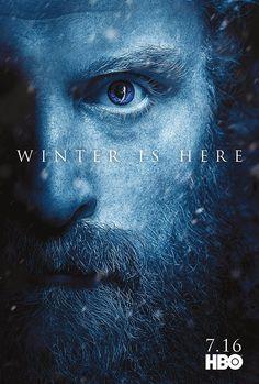 Game of Thrones season 7 character poster of Tormund Giantsbane (Kristofer Hivju) Game Of Thrones S7, Dessin Game Of Thrones, Game Of Thrones Saison, Game Of Thrones Poster, Winter Is Here, Winter Is Coming, Batwoman, Grey's Anatomy, Sam Claflin