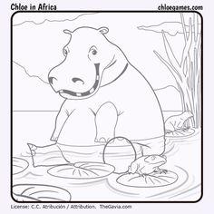 ChloeInAfricaHippo by Fran-atic on DeviantArt Chloe Games, Africa, Snoopy, Deviantart, Painting, Fictional Characters, Painting Art, Paintings, Paint