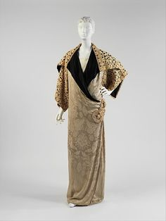 Opera Coat, Paul Poiret (1911). Silk.
