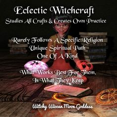 The Many Types of Witchcraft Types Of Witchcraft, Witchcraft Spells For Beginners, Witchcraft Spell Books, Wiccan Spell Book, Magick Spells, Wicca Witchcraft, Wiccan Crafts, Eclectic Witch, Baby Witch