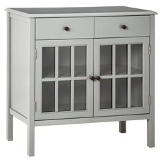 Windham 2 Door Cabinet with Drawers - Threshold™ : Target