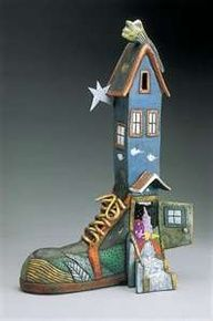 1000 images about shoe sculpture on pinterest sculpture for Shoe sculpture ideas