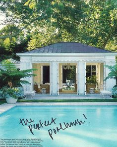 pool house - change exterior to shingles and roof to metal....need fireplace?