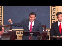 Sens. Ted Cruz, Mike Lee, and Marco Rubio Engage in a Colloquy on Defunding Obamacare//// WATCH VIDEO