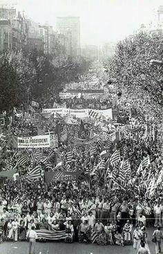 Manifestació de l'11 de Setembre de 1977.