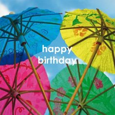 Happy Birthday | @FairMail - Fair Trade Cards - FMC039