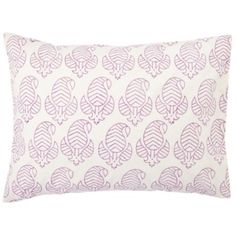 Girl's room if we decide on purple Bazaar Pillowcase  | The Land of Nod