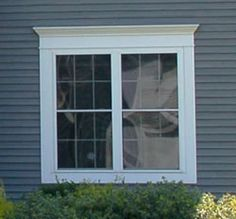 Exterior Trim a-series casement with exterior trim | window trims, window and doors