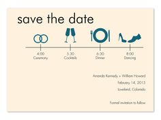 Interesting save the date...