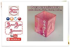 Peça Organizadora Personalizada http://amocarte.blogspot.com.br/