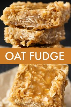 Healthy Recipes Oat Fudge - Add a little texture to your basic brown sugar fudge recipe with the addition of nuts, coconut and oats! - Add a little texture to your basic brown sugar fudge recipe with the addition of nuts, coconut and oats! Fudge Recipes, Candy Recipes, Sweet Recipes, Baking Recipes, Cookie Recipes, Dessert Recipes, Nut Recipes, Healthy Recipes, Dessert Simple