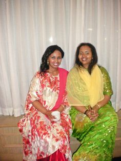 My girl and moi @ a friend's traditional Somali wedding.