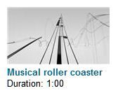 Musical Roller Coaster  This is a wicked-awesome video to share with your kids. Wow!!