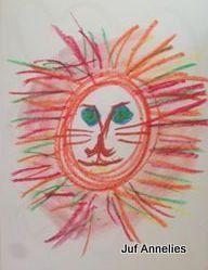 Schrijfdans leeuw Form Drawing, Scribble Art, Bible Crafts, Tarzan, Art For Kids, Safari, Wildlife, Tropical, Tapestry