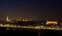 De noche en Florencia