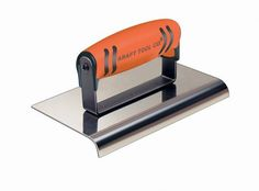 9-Inch x 5-Inch Kraft Tool CF190PF Stainless Steel Highway Edger with ProForm Soft Grip Handle 3//8-Inch Radius 1//2-Inch Lip