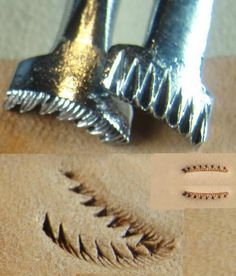 F914L- F914R Leather stamping tools $5.00