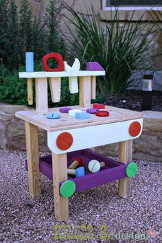 Ana White | Build a Tiny Tot Tool Bench - Feature by Killer B. Design | Free and Easy DIY Project and Furniture Plans