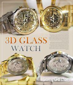 #ساعت 3 بعدی glass  ساعت سه بعدی glassاز سری ساعت های جدید می باشد که به تازگی وارد بازار ایران شده است.از خصوصیات این ساعت که به ساعت های س. ک.س.ی معروف هستند این هستش که محتویات داخل ساعت از جلو و از پشت قابل مشاهده است. . این ساعت دارای دستبند استیل بسیار مقاوم و موتور اصلی بادوام است که سال های سال می توانید از آن استفاده کنید.  خـريد پستي >> قيمت  فقـط :35000تـومـان  پرداخت وجه بعد از تحويل درب منزل شــما  اطلاعات بیشتر و خرید : http://ift.tt/21rl5B9