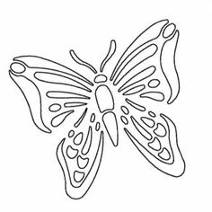 Free+Gourd+Patterns+to+Print | butterfly printable stencil source stencil ease