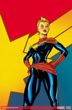 Check out the cover to Captain Marvel (2012) #1 by Ed McGuinness!