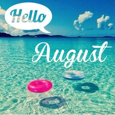 August is one of our favourite months of the year because we get to enjoy some sun, sand and sea! 😍Whats your plan for this month? What fitness/health goals have you set up for yourself? August Summer, August Month, June, Spring Summer, Seasons Months, Months In A Year, 8 Weeks, 12 Months, Hello August Images