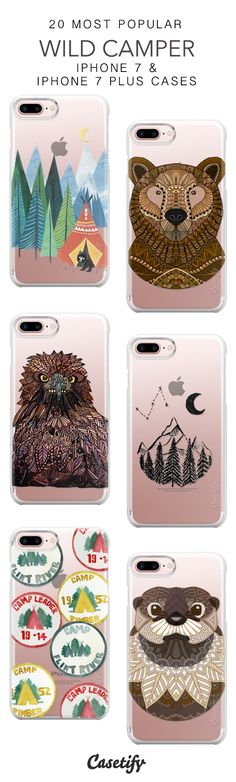 20 Most Popular Wild Camping Protective iPhone 7 Cases and iPhone 7 Plus Cases. More Camping iPhone case here > https://www.casetify.com/collections/top_100_designs#/?vc=gM8uKvgaFu