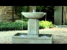 Outdoor Beach Themed Hanging Wall Water Foutnain: Tivoli USA: Shell in English Iron Stone Garden Fountains, Garden Stones, Outdoor Fountains, Decks And Porches, Outdoor Living, Outdoor Decor, Water Garden, Beach Themes, Water Features