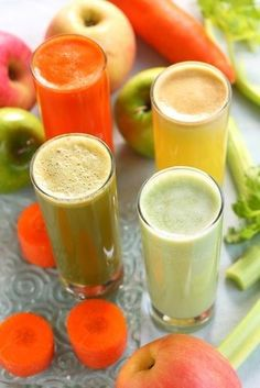 3-Day Cleanse & Detox Drink Recipes! Rid your body of harmful toxins and feel the difference in JUST a few days! Totally worth it! Doing this after Thanksgiving will leave you feeling refreshed and back on track.