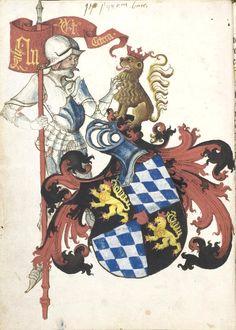 «Kunst des Messerfechtens», Hans Lecküchner, Nordbayern (Nürnberg?), um 1478 [UB Heidelberg, Ms Cod. Pal. germ. 430], f°1v.